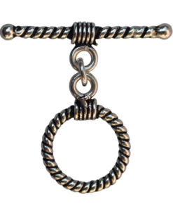 silver toggle clasps