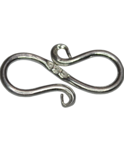 sterling silver S Clasp