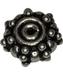 oxidized silver spacers