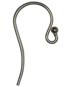 ball earwire earring part